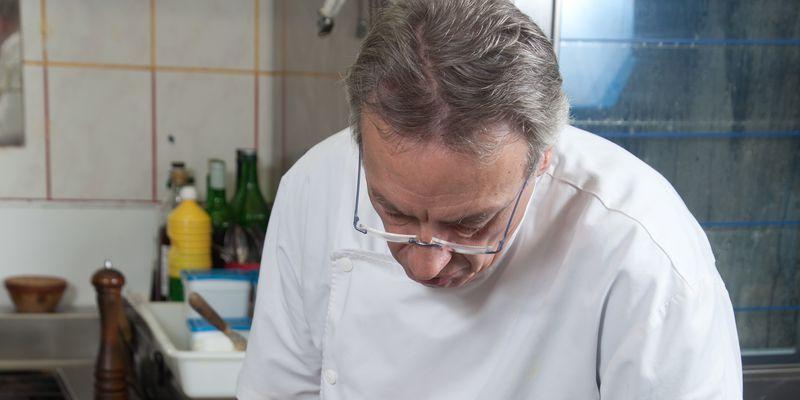 le Chef Philippe Mené - Restaurant Les dunes (Blériot plage)