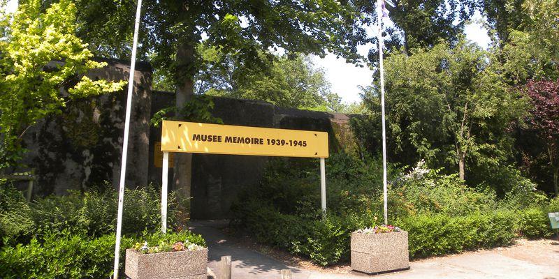 Entrée du Musée Mémoire 1939-1945 de Calais