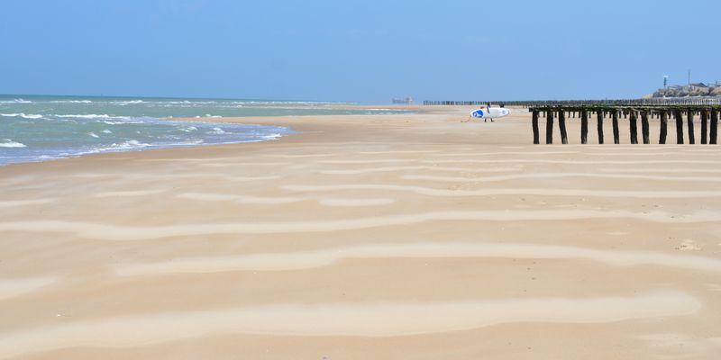 Des plages de sable fin