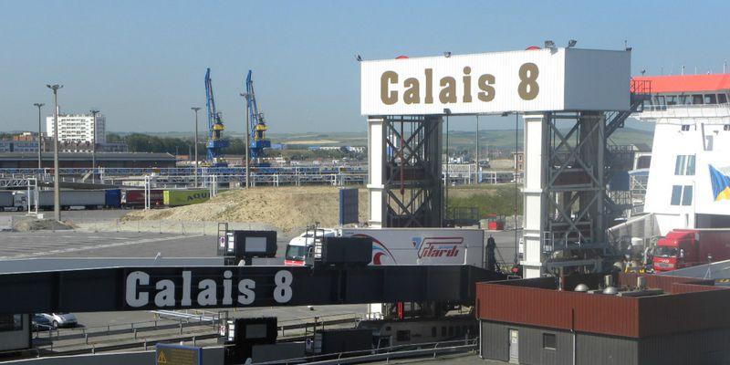 Débarquement au port de Calais