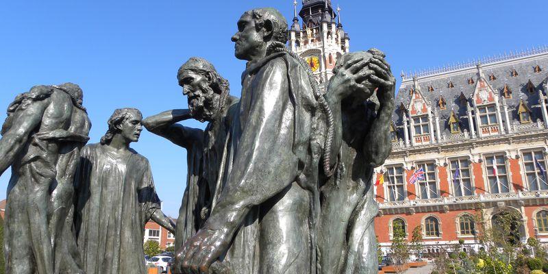 Statue des Bourgeois de Calais par Auguste Rodin